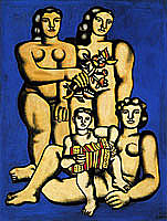 Fernand Leger, Three Sisters (Oil on canvas)